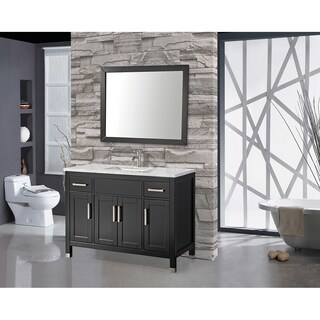 MTD Vanities Ricca 60-inch Single Sink Bathroom Vanity Set with Free Mirror and Faucet (2 options available)