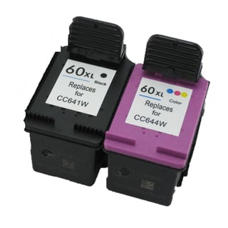 CC641WN CC644WN (HP 60XL) Compatible Inkjet Cartridge For D1660 D2500 D2530 D2545 D2560 (Pack of 2)