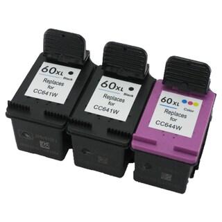 CC641WN CC644WN (HP 60XL) Compatible Inkjet Cartridge For D1660 D2500 D2530 D2545 D2560 (Pack of 3)