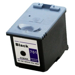 CC635A (HP 701) Black Compatible Inkjet Cartridge For 640 2140 (Pack of 1)