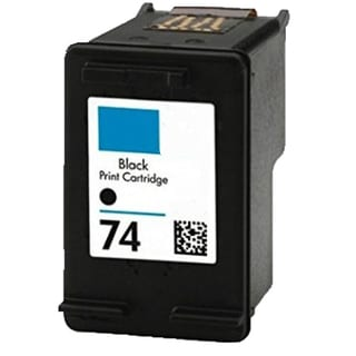HP74 - Black Compatible Inkjet Cartridge For Deskjet D4200 Officejet J5700 Photosmart C4200 Series (Pack of 1)