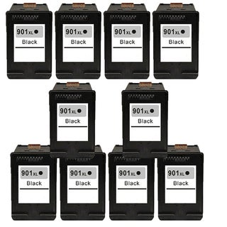 901XL BK (CC654AN) Compatible Inkjet Cartridge For J4500 J4540 J4550 J4640 J4680 (Pack of 10)