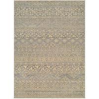 Couristan Elegance Ophelia Mauve-tan Wool Rug (8'2 x 11'3)