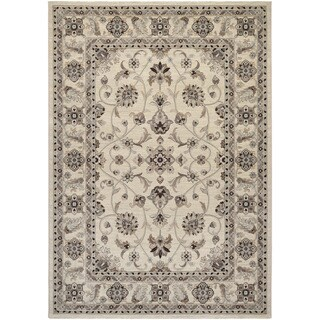 Couristan Everest Rosetta/ Ivory Rug (8' x 11')