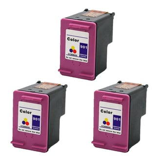 901 XL CMY (CC656AN) Compatible Inkjet Cartridge For J4500 J4540 J4550 J4640 J4680 (Pack of 3)