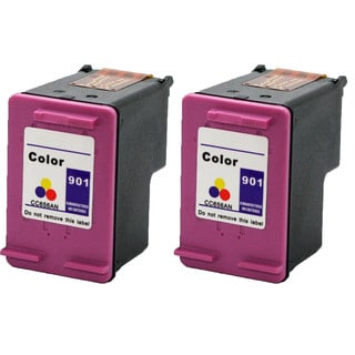 901 XL CMY (CC656AN) Compatible Inkjet Cartridge For J4500 J4540 J4550 J4640 J4680 (Pack of 2)