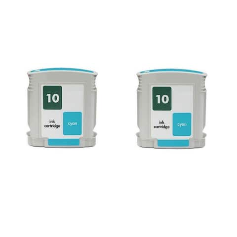 C4841A - Cyan Compatible Inkjet Cartridge For Business InkJet 1000 Business InkJet 1100 Business InkJet 1100d (Pack of 2)