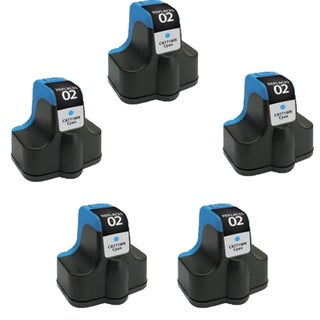 HP 02 CY (C8771) Compatible Inkjet Cartridge For 3110 3210 3210v 3210xi 3310 3310xi (Pack of 5)