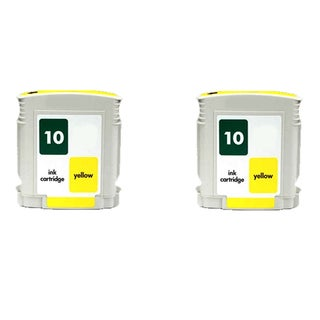 C4842A - Yellow Compatible Inkjet Cartridge For Business InkJet 1000 Business InkJet 1100 Business InkJet 1100d (Pack of 2)