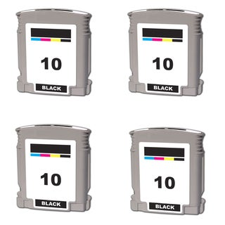 C4844A Compatible Inkjet Cartridge For Business InkJet 1000 Business InkJet 1100 Business InkJet 1100d (Pack of 4)