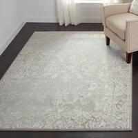 Loire Elegance Grey/ Cream Area Rug - 7'10 x 11'2