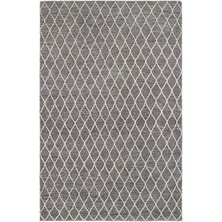 Couristan Retrograde ltyear/ Ocean-Dusty Blue Rug (8' x 11')