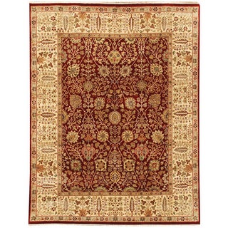 Dimora DE 19 Red Gold Colored Rug (4' x 6')