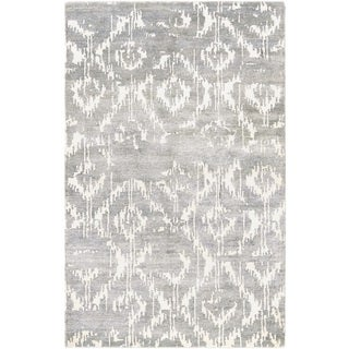 Couristan Sagano Bauble/ Dusty Blue-ivory Rug (8' x 11')