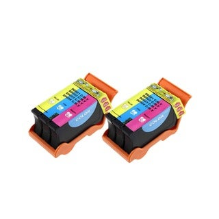 Dell T106N Color (Series 23) Compatible Inkjet Cartridge For Dell V515W (Pack of 2)