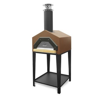 Americano Terra Cotta Wood Burning Pizza Oven by Chicago Brick Oven