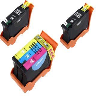 Dell 2 T091N Black 1 T092N Color (Series 22) Compatible Inkjet Cartridge For V313 V313W P513W (Pack of 3)