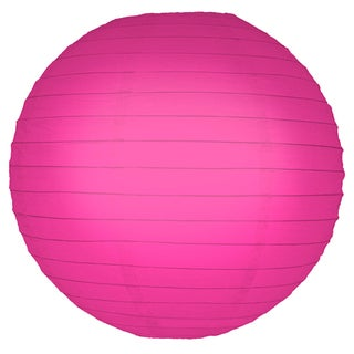 Pink 10-inch Paper Lanterns (5 Count)