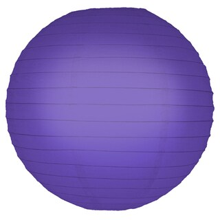 Purple 10-inch Paper Lanterns (5 Count)