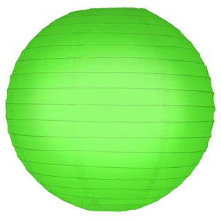 Green 10-inch Paper Lanterns (5 Count)