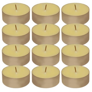 Mega Citronella 12-hour Tea Light Candles (12 Count)