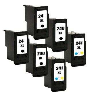 PG-240XL CL-241XL Compatible Inkjet Cartridge For MG3222 MG4120 MG4220 MG3520 MX372 MX392 MX432 MX439 MX452 (Pack of 6)