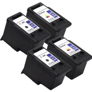 PG-240XL CL-241XL Compatible Inkjet Cartridge For MG3222 MG4120 MG4220 MG3520 MX372 MX392 MX432 MX439 MX452 (Pack of 4)