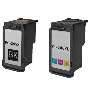 PG 245XL CL 246XL Compatible Inkjet Cartridge For PIXMA MG2420 MG2922 MG2924 MG2520 MG2920 IP2820 (Pack of 2)
