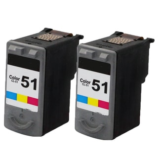 CL-51 Compatible Inkjet Cartridge For MP150/160/170 (Pack of 2)