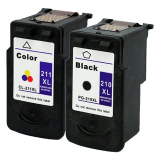 CL-211XL PG-210XL Compatible Inkjet Cartridge For MP250Canon Pixma MP270Canon Pixma MP495Canon Pixma MX340Pixma (Pack of 2)