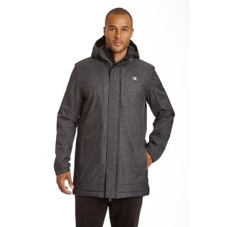 Champion Men's Technical Herringbone 3/4 Length Coaches Jacket (Tall Sizes)