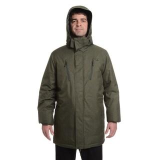 Champion Men's Technical Herringbone Big Sizes 3/4 'Coaches Jacket'