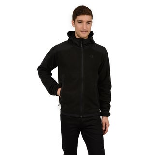 Champion Men's Big and Tall Anti-pill Microfleece Versatile Zip Front Hoody (Tall Sizes)