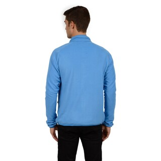 Champion Men's Mock Neck Set in Sleeve Two Sided Anti-pill Microfleece (Big Sizes)
