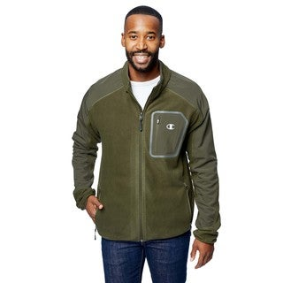 Champion Men's Anti-pill Microfleece Jacket