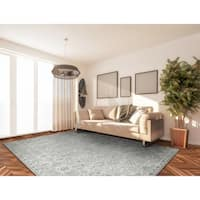 Couristan Everest Persian Arabesque Charcoal Ivory Rug 9