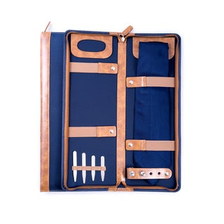 Bey Berk Ballistic Blue Travel Tie Case
