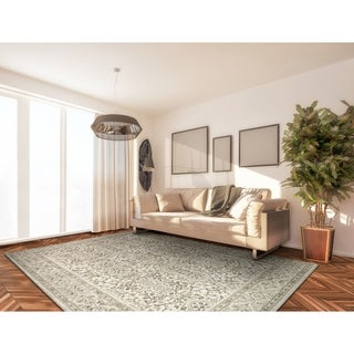 Couristan Marina St.Tropez Champagne-Pearl Area Rug - 9'2 x 12'9