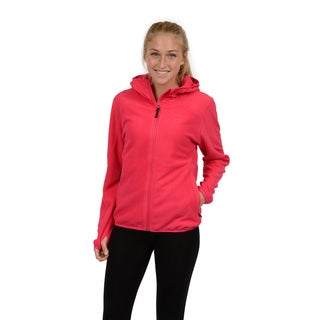 Champion Women's Two Sided Anti-pill Microfleece Versatile Zip Front Hoody