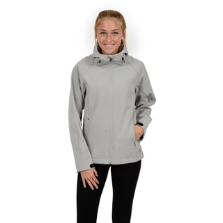 Champion Women's Hooded mock neck soft shell