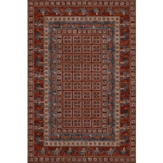 Couristan Old World Classics Pazyrk Antique Red Rug (9'10 x 13'9)