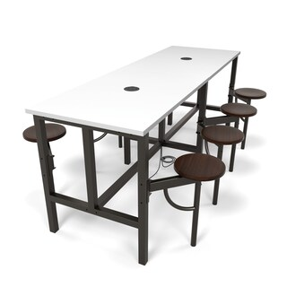 OFM Endure Series Standing Height Eight Seat Table (2 options available)