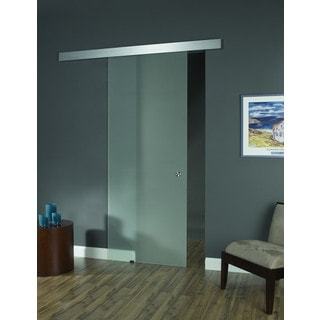 Opaque Glass Barn Door (32x96)