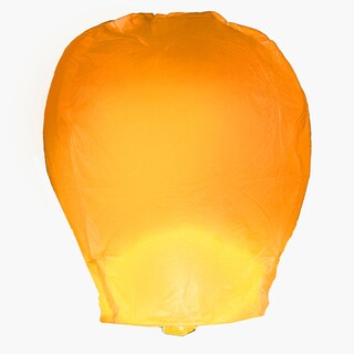 Orange Sky Lanterns (4 Count)