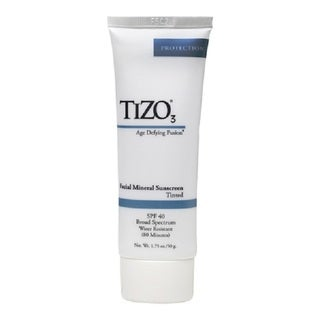 TIZO3 Tinted Facial Mineral Sunscreen SPF 40