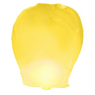 Yellow Sky Lanterns (4 Count)