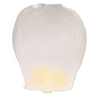 White Sky Lanterns (4 Count)