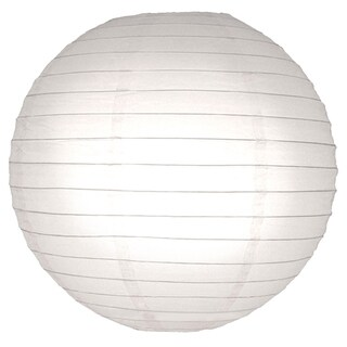 White 10-inch Paper Lanterns (5 Count)