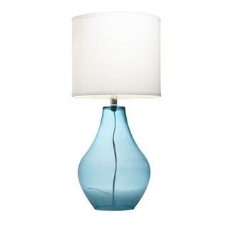 Kichler Lighting 1-light Light Blue Glass Table Lamp
