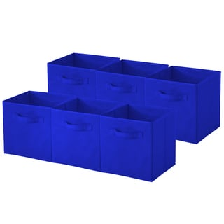 Collapsible Storage Cube; Pack of 6